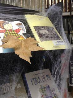 Biblioteca Joan Pelegrí: Ja has triat la teva novel·la de por?