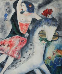 The Equestrian ~ Marc Chagall