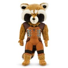 Rocket Plush - Marvel's Guardians of the Galaxy - Medium - 15'' | Marvel ShopRocket Plush - Marvel's Guardians of the Galaxy - Medium - 15'' - This scrappy mercenary was roaming the stars looking for adventure before joining the <i>Guardians of the Galaxy</i>. Now you can take Rocket to your home with this plush toy.