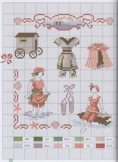 enjoying the see - free cross stitch pattern