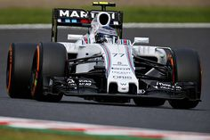 #Q1 comes to an end with @ValtteriBottas P4 & @MassaFelipe19 P10 with both times set on the hard tyre #JapaneseGP