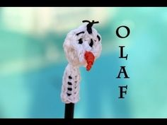Rainbow Loom Nederlands Olaf Pencil Topper (Frozen)