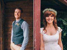 Lauretta and James' Handmade Country Wedding