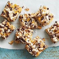 Chocolate, Coconut, and Almond Bars