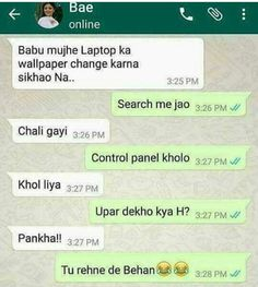 Pin by aranya tyagi on funny quotes Funny School Jokes, Some Funny Jokes, Crazy Funny Memes, Good Jokes, Funny Facts, Hilarious Memes, Whatsapp Fun, Funny Chat, Lol Text