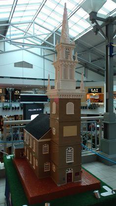 """Cтара Північна Церква у Бостоні - побудована з """"цеглинок"""" LEGO"""