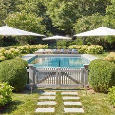 Backyard Pool Landscaping, Backyard Pool Designs, Small Backyard Pools, Swimming Pools Backyard, Swimming Pool Designs, Garden Pool, Outdoor Pool, Lap Pools, Indoor Pools