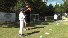 Learning How to Throw the Baseball Correctly (7 & 8 year olds) | Great teaching on positioning and use of elbows.