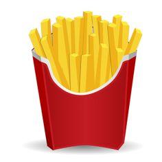 icone batata frita