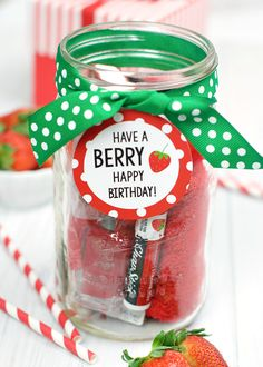 Berry Gift Idea For Friends Or Teachers