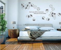 Don't Put Off For Tomorrow What You Can Do Today Wall Decals – WallDecalMall.com