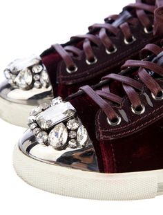 Miu Miu Sneakers/ really?  A little too much for tennies, even for me.  And that's saying something!   Linda