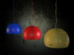 Lámpara 0 #industrialdesign. #diseñoindustrial. #green #light #plastic