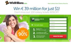 WintriPromo  Regarding Wintrillions.com and Congalotto.com, we also have some new promotions you can use:  Congalotto.com: - Buy One and Get One Free!  Wintrillions.com: - Win a Car!              - Play for just $1.00!