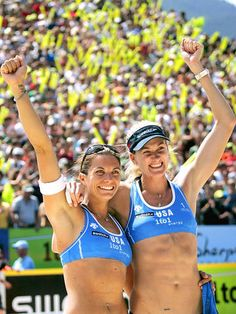 they started my love of beach volleyball and the Olympic games.