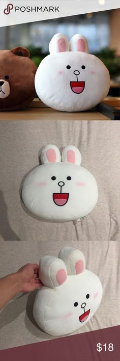 Line Cony rabbit plush super cute! just been stored in my closet Other