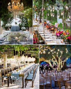 Fairytale Garden wedding / Reception Ideas