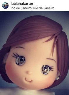 1 million+ Stunning Free Images to Use Anywhere Cute Polymer Clay, Cute Clay, Polymer Clay Dolls, Polymer Clay Miniatures, Polymer Project, Polymer Clay Projects, Clay Crafts, Fondant Hair, Chibi Eyes