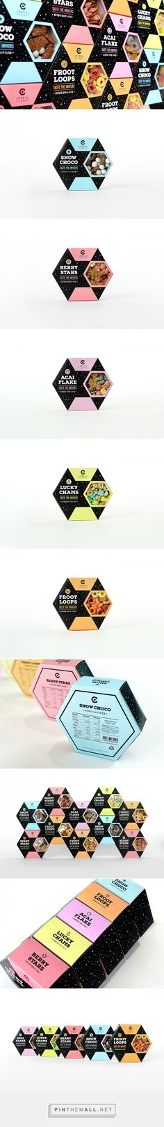 Cereal Planet - Package Design on Behance - created via https://pinthemall.net