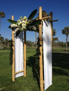 Looking For The Perfect Wedding Arch A Backyard Or Beach Build Your Own DIY Arbor With Bamboo Decorat