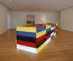 Cave to Canvas, Donald Judd, Untitled, 1989
