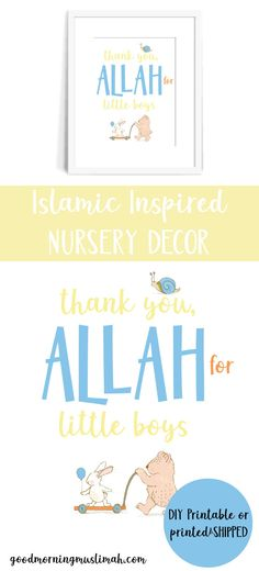 Thank you, Allah for