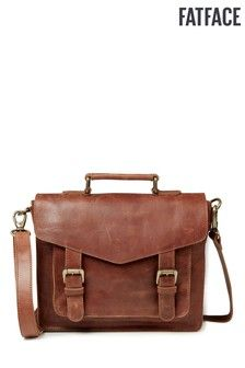 Buy FatFace Chestnut Clara Satchel Bag from the Next UK online shop Fat Face, Luxury Handbags, Leather Handle, Uk Online, Satchel Bag, Latest Fashion For Women, Purse Wallet, Women's Accessories, Messenger Bag