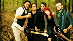 Paramore! Love this band! Now my hair color is just like hers! :)
