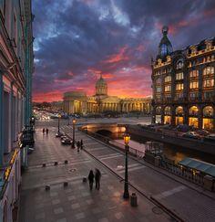 Казанский мост, Набережная канала Грибоедова — National Geographic Россия