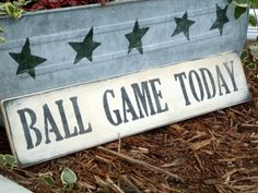 Great Signs. This one on back porch by wiffleball field.