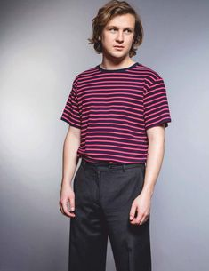 Male Fashion Trends: Logan Miller luce piezas en denim para DAMAN Magazine Escape Room, Male Fashion Trends, Mens Fashion, Logan Miller, Dream Boy, Boy Or Girl, Indie, Interview, Handsome