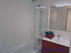 La salle de bain de l'appartement Jardin d'Aiguelongue à Montpellier