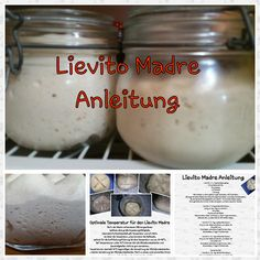 Lievito Madre ♡ auch Italienische Mutterhefe genannt, eignet sich wunderb… Lievito Madre ♡ also called Italian nut yeast, is wonderful for baking yeast doughs. Cooking Red Potatoes, Cooking Bacon, Bread Bun, Bread Rolls, Best Cooking Oil, Cooking Torch, Cooking Black Beans, Pampered Chef, Party Snacks