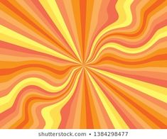 yellow background aesthetic pattern Orange and yellow abstract striped perspective with swirls and waves. Artsy Background, Yellow Background, Aesthetic Painting, Aesthetic Art, Summer Backgrounds, Twitter Backgrounds, Cartoon Flowers, Hippie Wallpaper, Orange Aesthetic