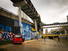 River Graffiti Art - Kuala Lumpur-5