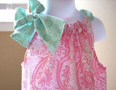 Love to sew pillowcase dresses with designer fabrics....such fun!