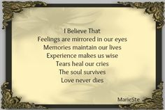 The Soul Survives, Love Never Dies  ♥♥♥...I Love YOU SON... 11/7/85 - 6/23/14
