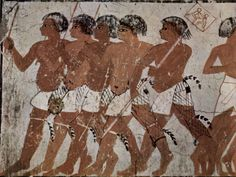PUNT ANCIENT EGYPTIAN EXPEDITION.  ETHIPIA