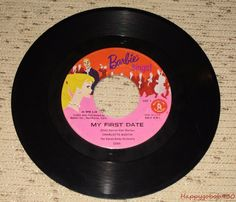 1961 Vintage Barbie The Busy Buzz My First Date 45RECORD to Barbie Sings | eBay