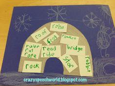 Crazy Speech World: Speech Igloos!