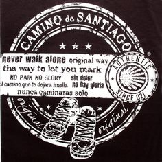 New Collection Spring/Summer 2013. Unisex T-shirt The Way of St.James. 100% cotton. Souvenir of The Way of St.James. Tax free $16.90