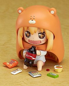 """Hot Good Smile Nendoroid 524 # Manga Comic Anime Himouto Umaru Chan Super Cute 4"""" Action Figure -in Action & Toy Figures from Toys & Hobbies on Aliexpress.com 