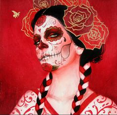 Day of the Dead Sylvia Ji | Newer Posts Older Posts Home