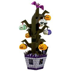 Halloween Tree - Seasons - Toys - Paper Craft - Canon CREATIVE PARK