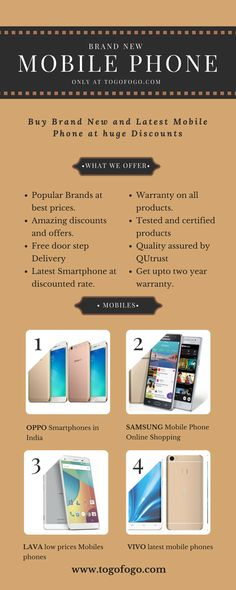 Trend Togofogo is online brand new mobile selling portal with huge discounts Here you can also buy refurbished used box opened and brand new cheap mobile