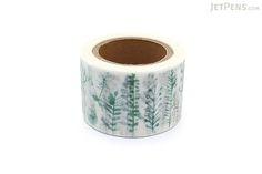 Round Top Little Path x Chamilgarden Washi Tape - Leaf - 30 mm x 10 m - ROUND TOP MTW-CH076