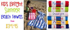 Yellow Duck Baby Gifts and Hampers offers quality personalised baby blankets, hampers & other baby gift products in Australia. Beach Fun, Summer Beach, Summer Fun, Personalized Baby Blankets, Personalized Baby Gifts, Kids Beach Towels, Baby Hamper, Baby Christmas Gifts, Personalised Baby Blankets