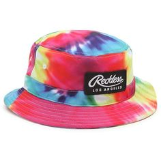 4f023c55545 Young and Reckless Tie Dye Bucket Hat ( 32) ❤ liked on Polyvore featuring  men s