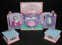 1999 Polly Pocket Master Bedroom - Dream Builders