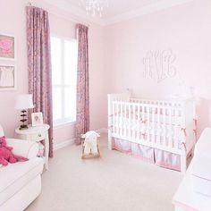 A pink nursery like